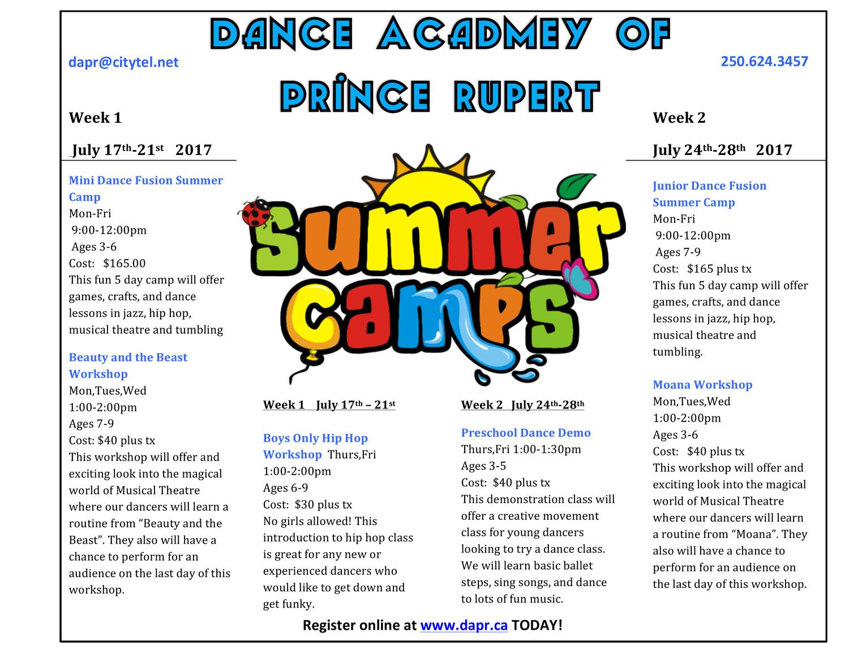 DAPR-Summer-Camp-2017